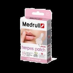 Medrull Herpes Patch huuliherpeslaastari 15 kpl