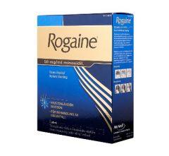 ROGAINE 50 mg/ml liuos iholle (2 annostelijaa)60 ml